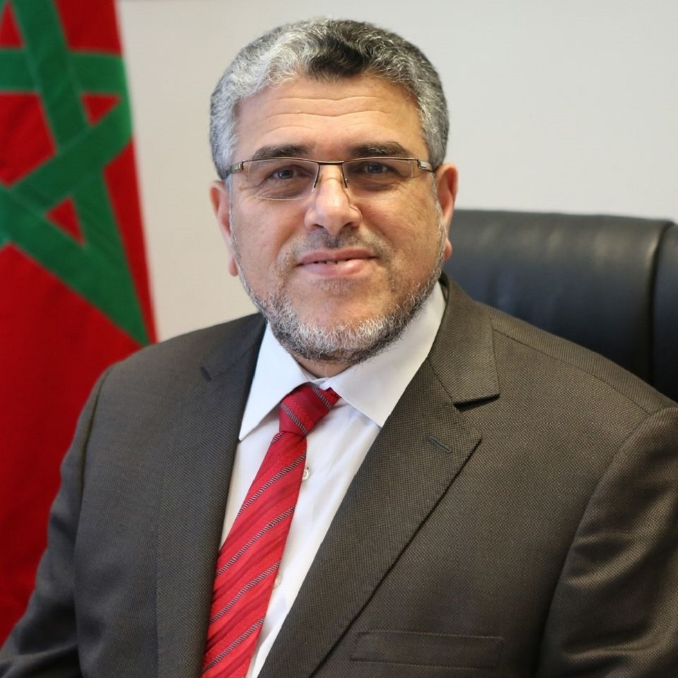 وزير الدولة المغربي المكلف بحقوق الإنسان والعلاقات مع البرلمان مصطفى الرميد