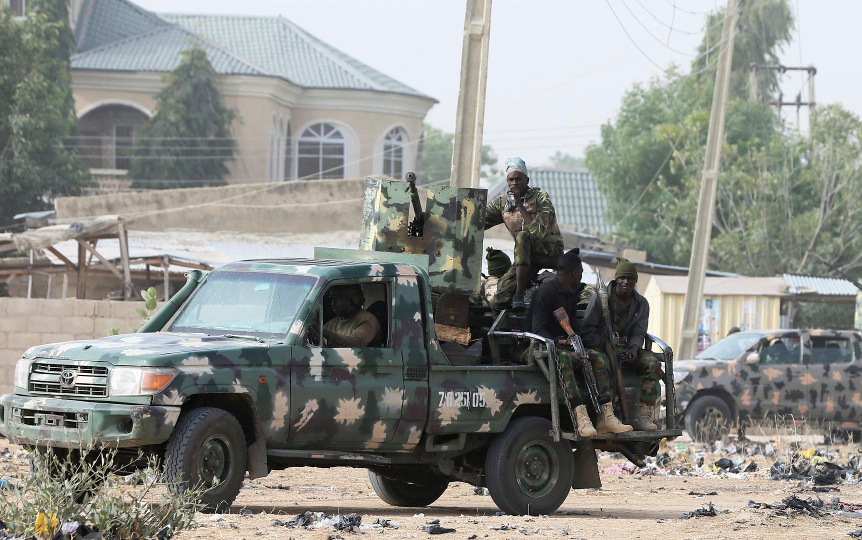 قوات الجيش النيجيرية (صورة من الأرشيف)