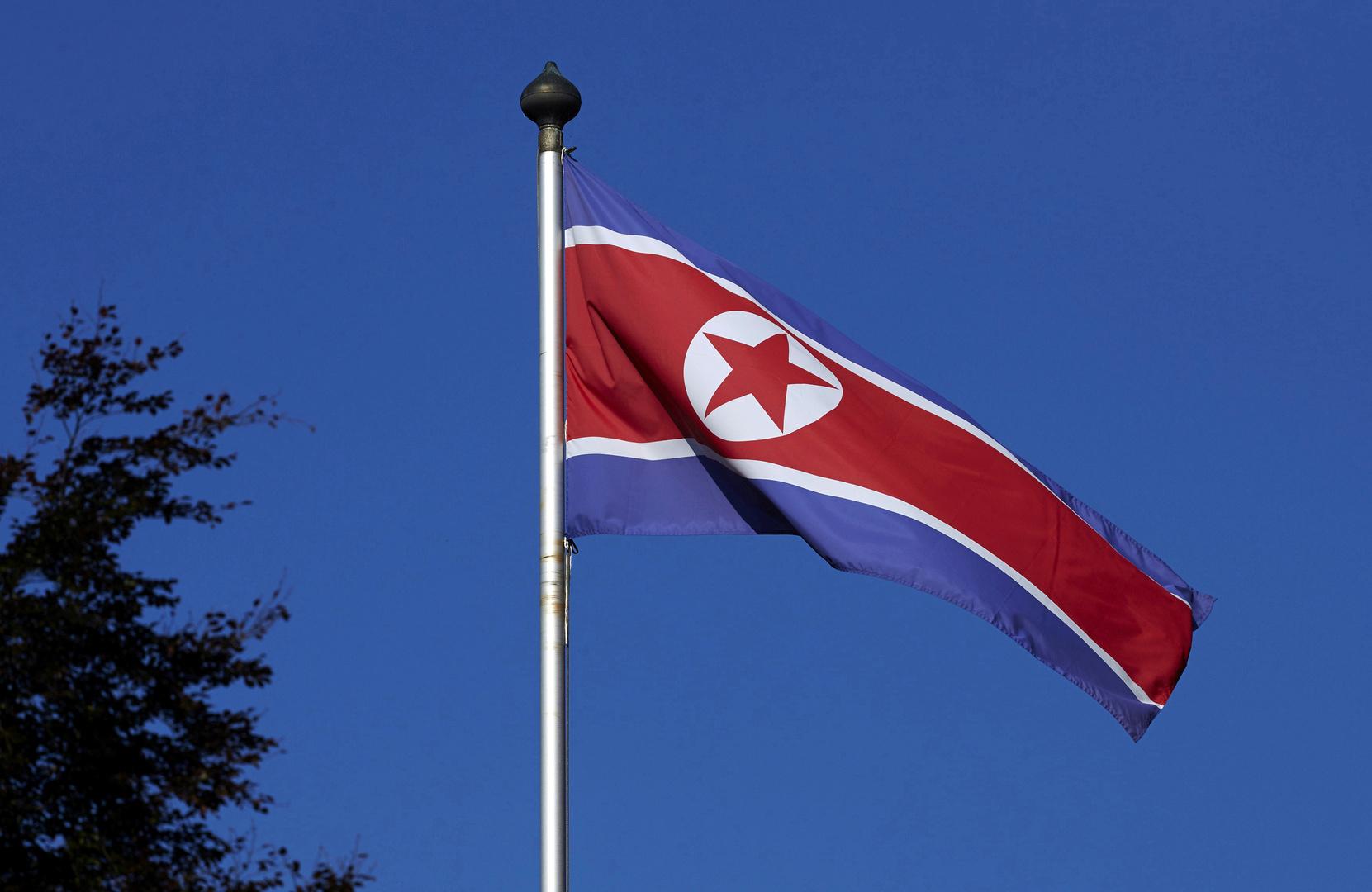 العلم الكوري الشمالي