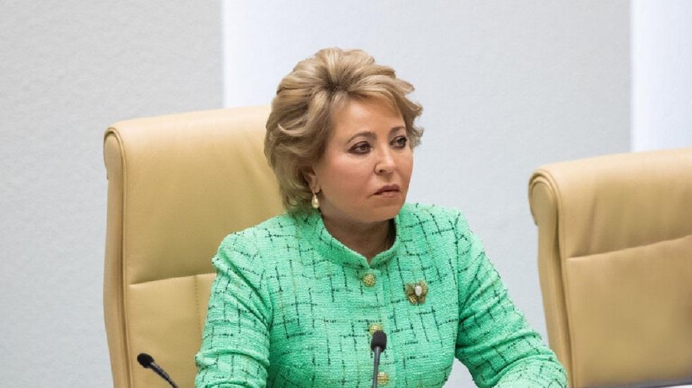 ماتفيينكو: يجب إجبار عمالقة التكنولوجيا المعلوماتية على مراعاة القوانين الروسية