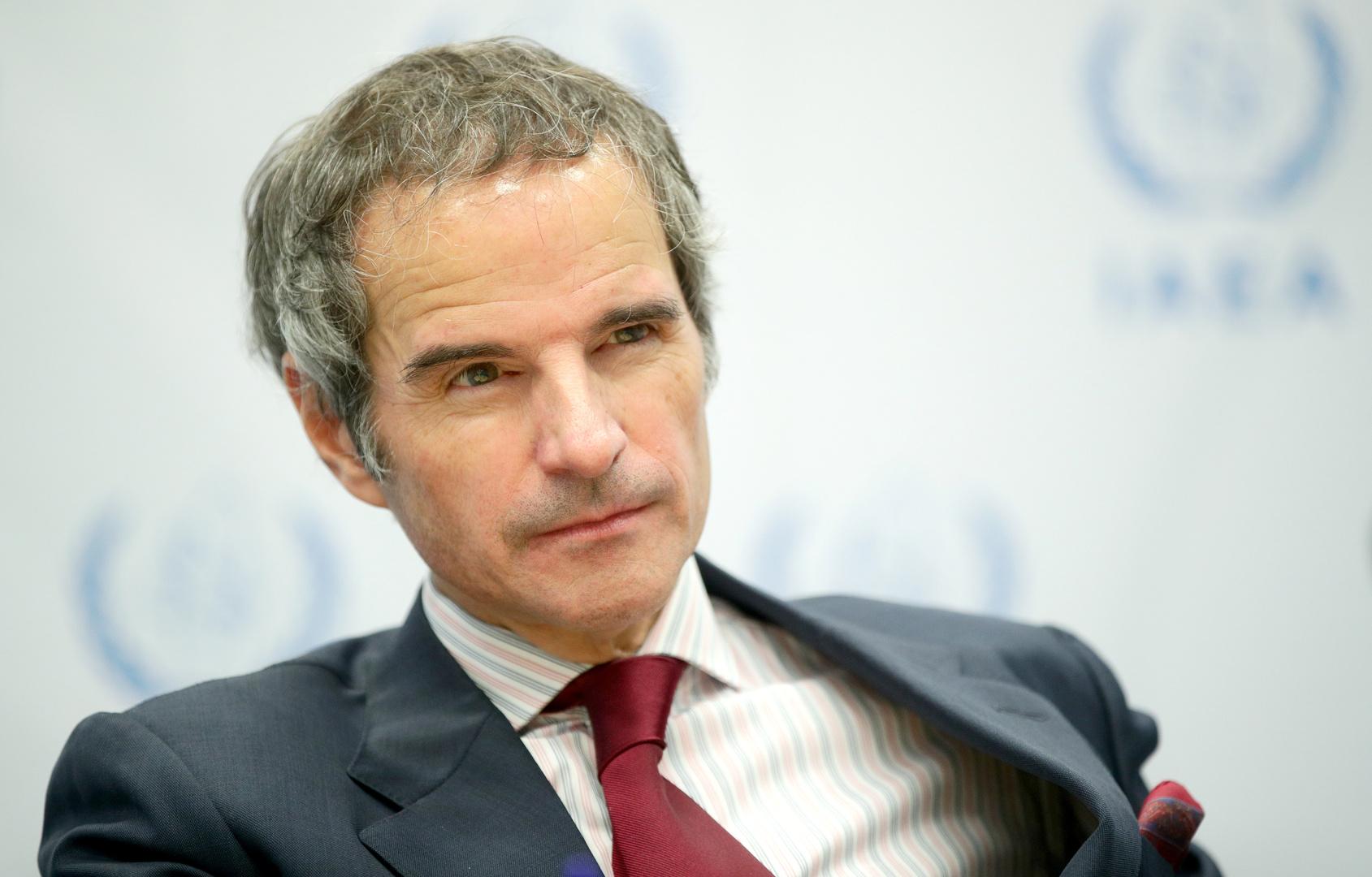مدير الوكالة الدولية للطاقة الذرية، رافاييل غروسي