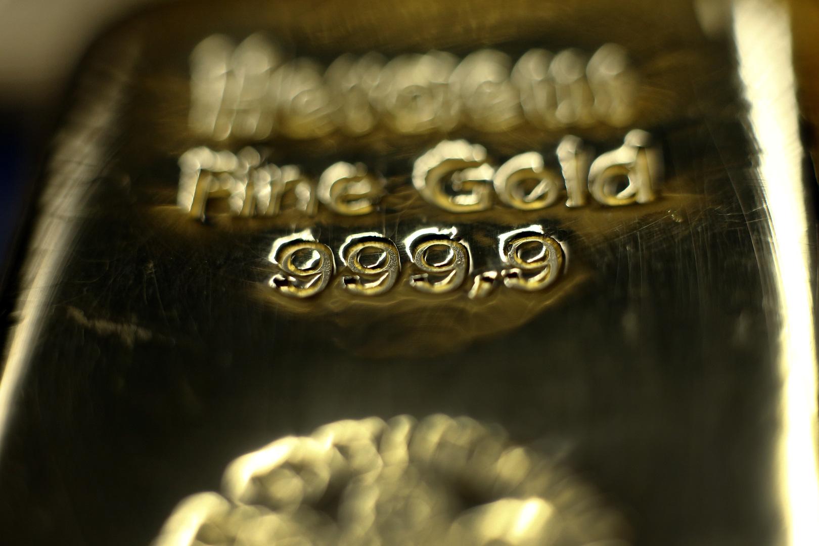 الذهب عند أدنى مستوى في أكثر من 8 أشهر