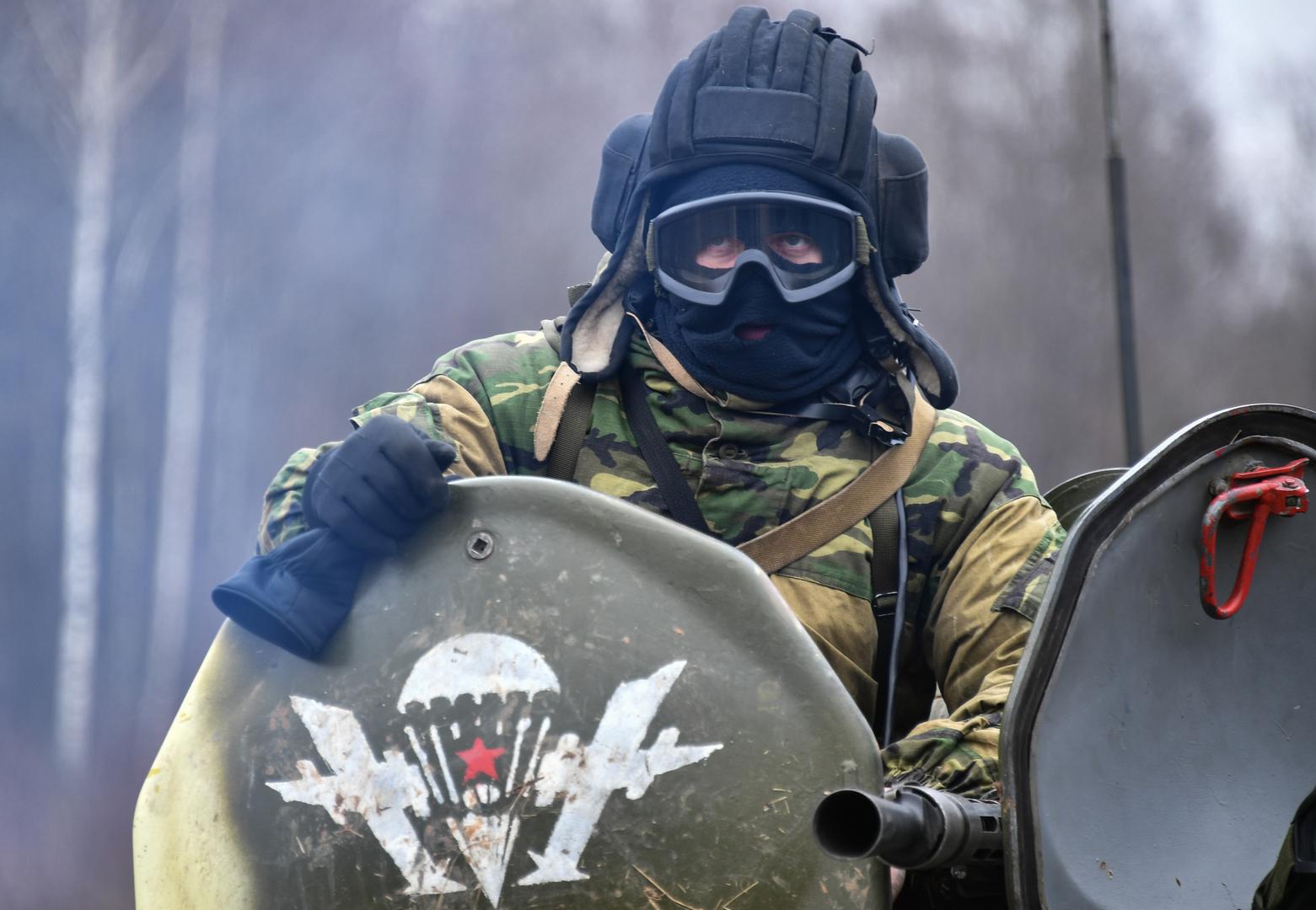 تدريبات عسكرية مشتركة بين روسيا وبيلاروس - صورة أرشيفية