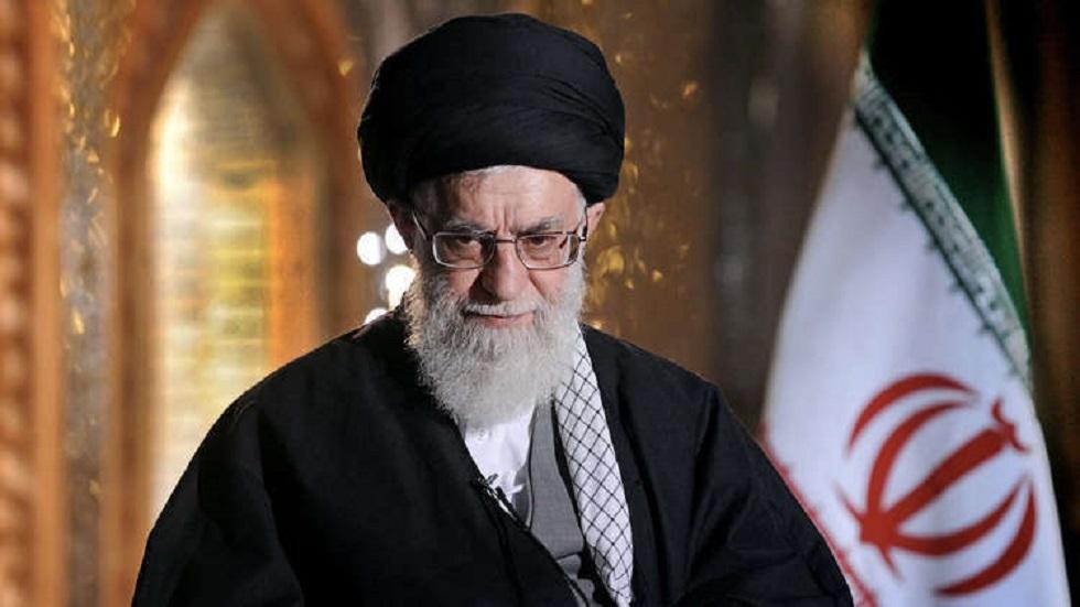 المرشد الأعلى في إيران علي خامنئي