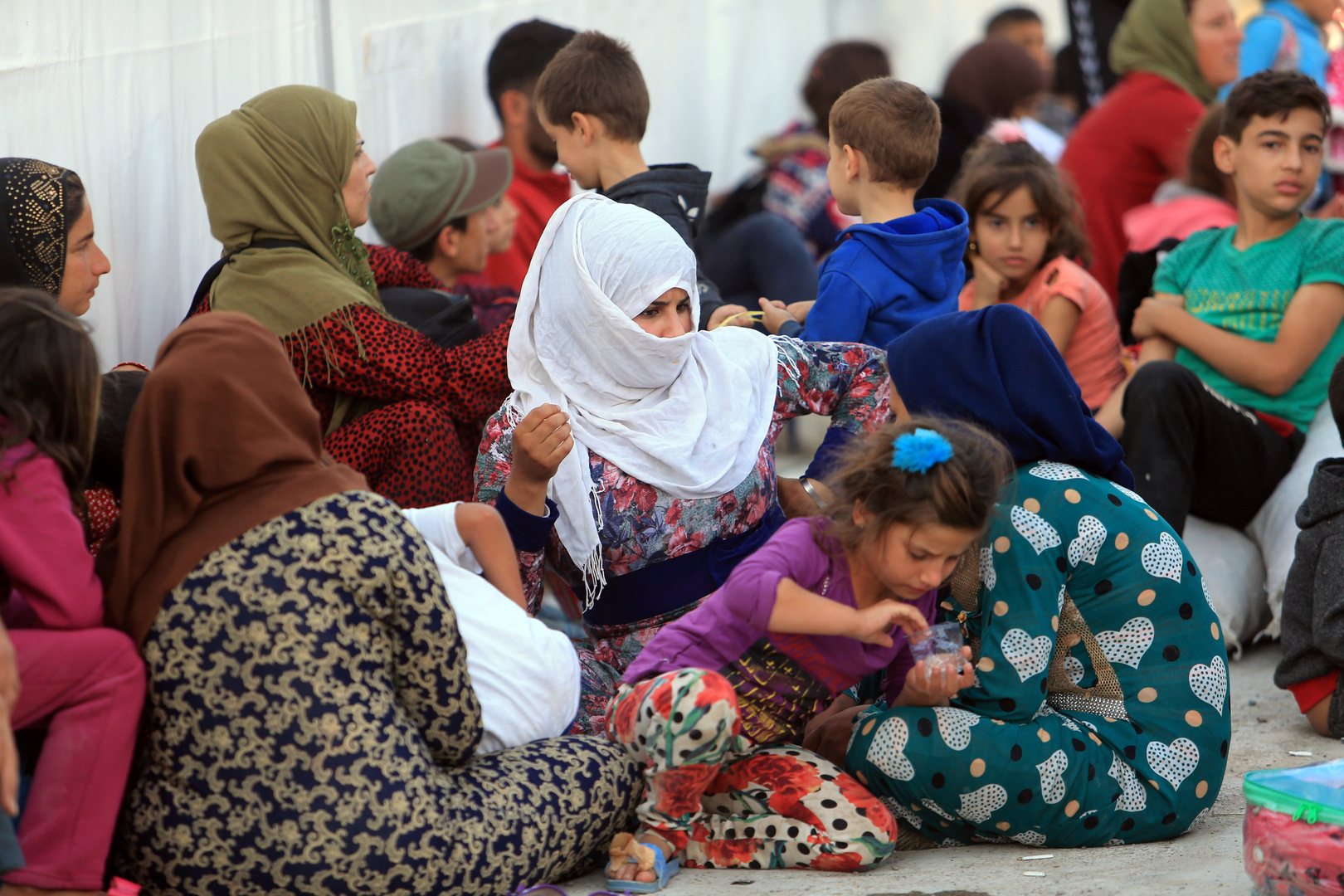 موسكو تعلق على وضع اللاجئين السوريين في المخيمات تحت السيطرة الأمريكية