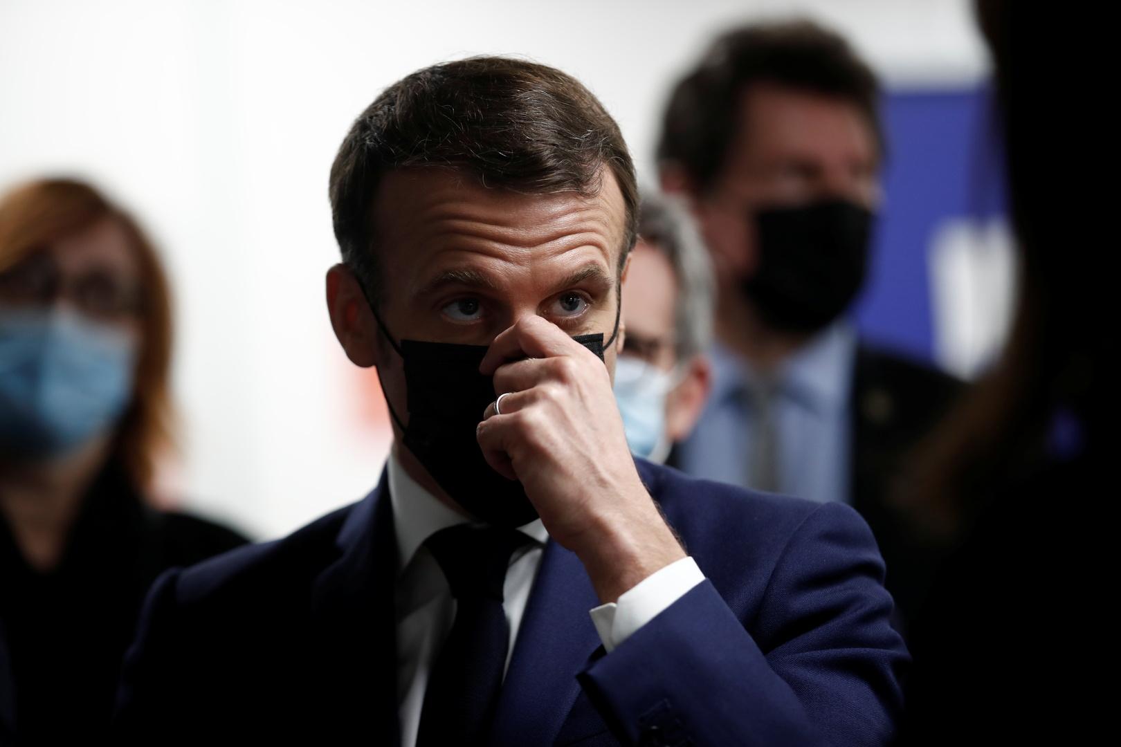 باريس: ماكرون طلب من روحاني بوادر واضحة