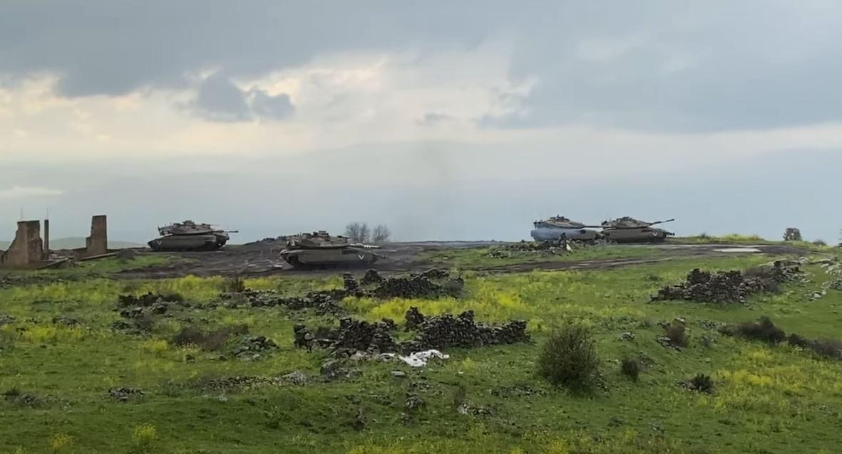 تدريبات عسكرية إسرائيلية في الجولان تحاكي حربا مع