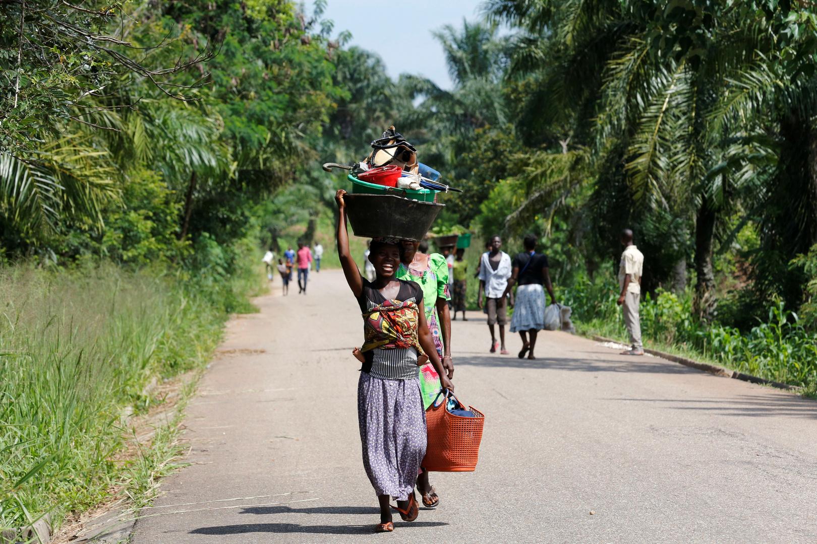 متشددون يقتلون 8 أشخاص في هجوم على سوق شمال شرقي الكونغو