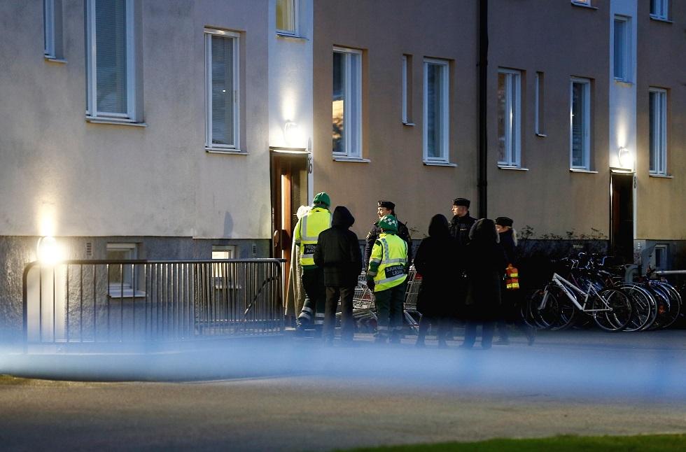"""السويد.. إصابة 8 أشخاص بسلاح أبيض والشرطة تحقق في """"جريمة إرهابية"""" محتملة"""