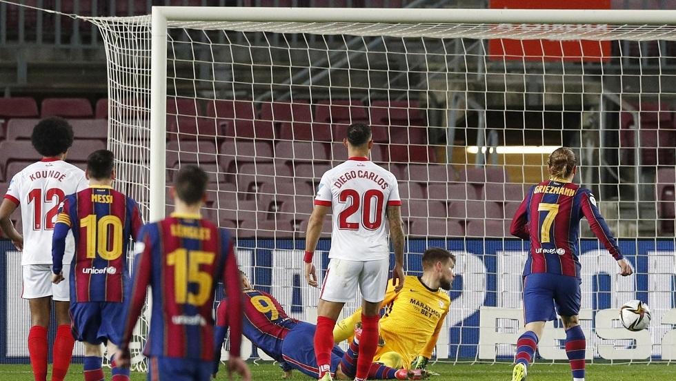شاهد.. برشلونة يحقق