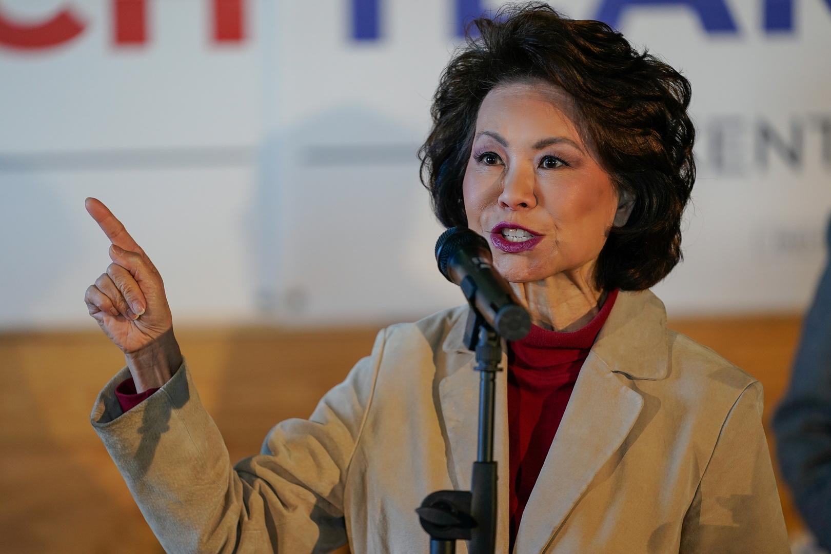 إيلين تشاو، وزيرة النقل في إدارة الرئيس الأمريكي السابق دونالد ترامب