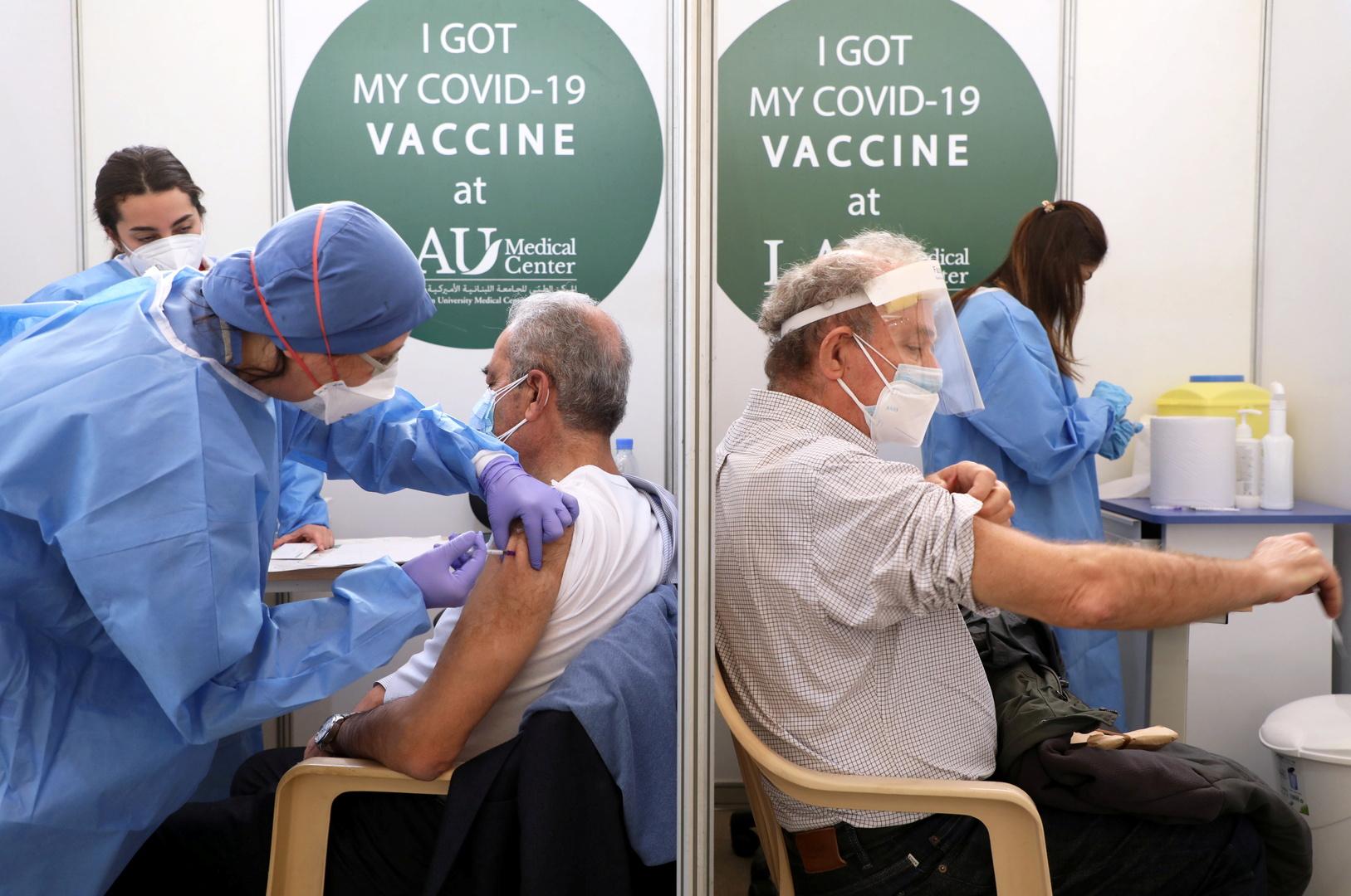 التطعيم ضد كورونا في لبنان