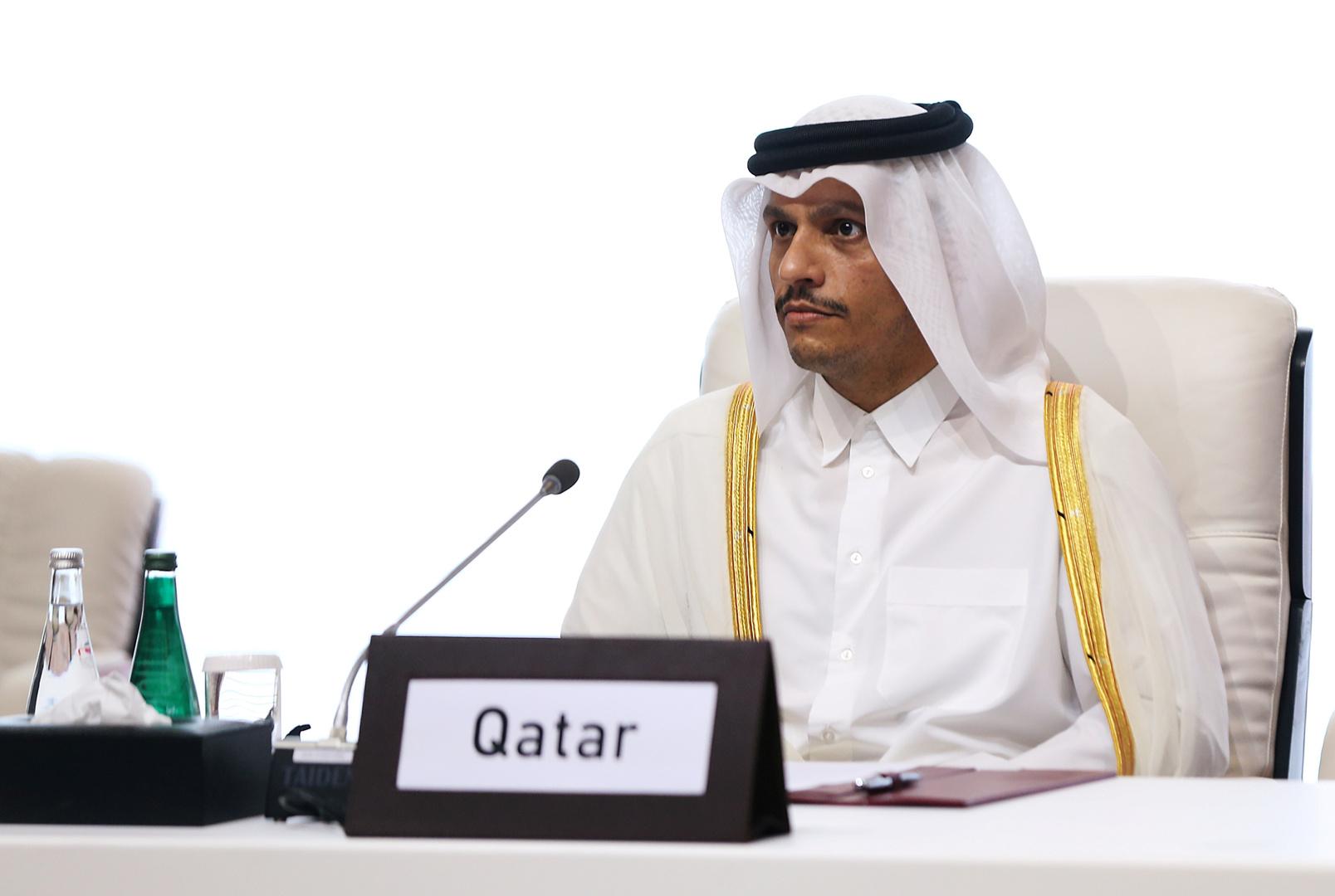وزير الخارجية القطري: الدوحة والقاهرة تسعيان لعودة الدفء إلى علاقاتهما
