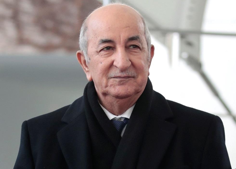 الرئيس الجزائري يستقبل رؤساء ثلاثة أحزاب (صور)