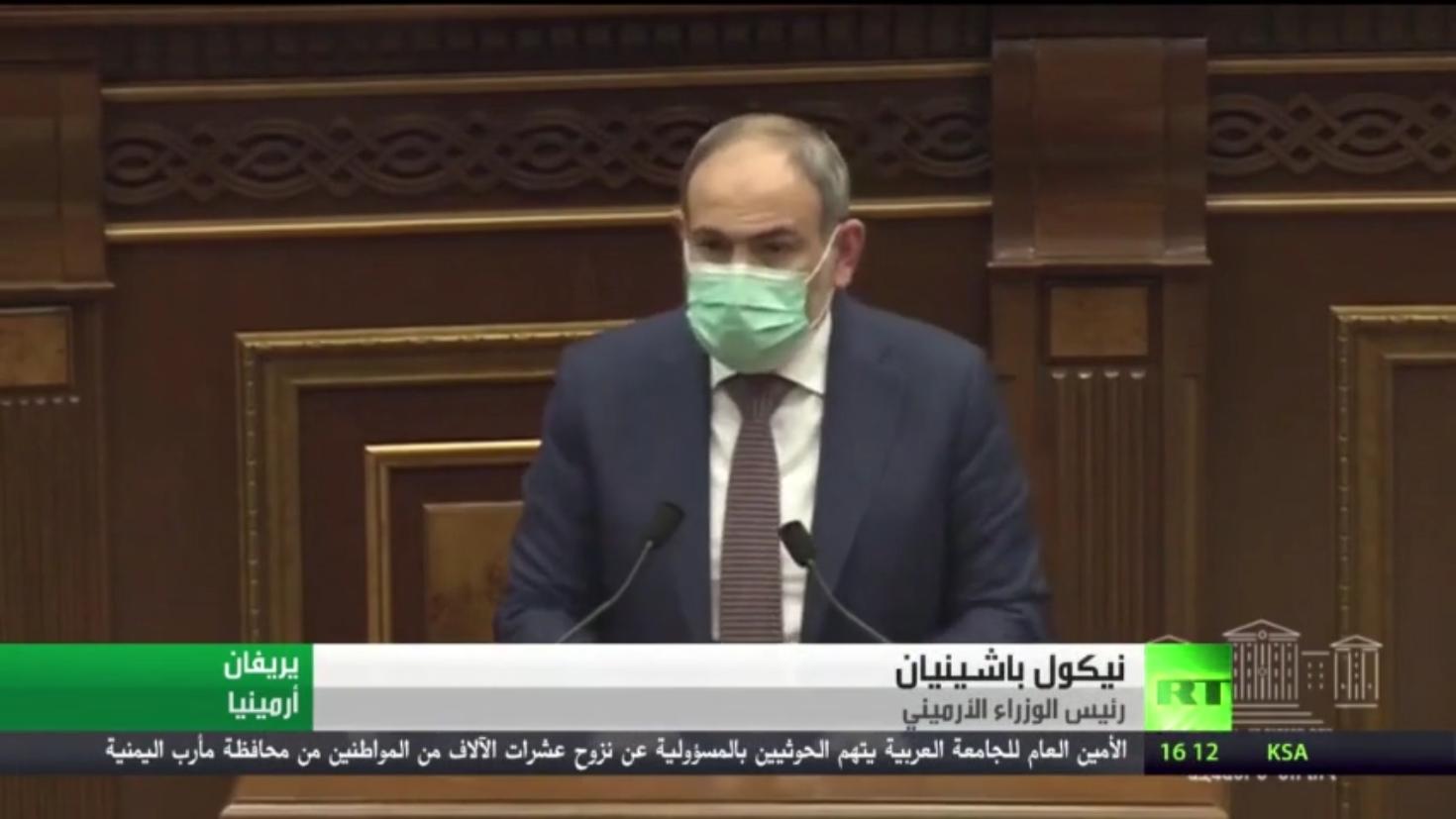 الرئيس الأرميني ورئيس هيئة الأركان العامة يؤكدان أولـوية الأمـن والاستقرار في البلاد