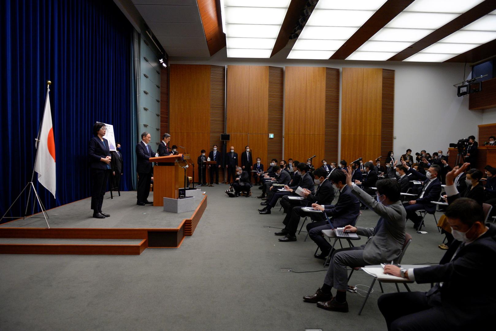 لجنة يابانية توافق على تمديد حالة الطوارئ في طوكيو وثلاث مدن لمدة أسبوعين لمواجهة كورونا