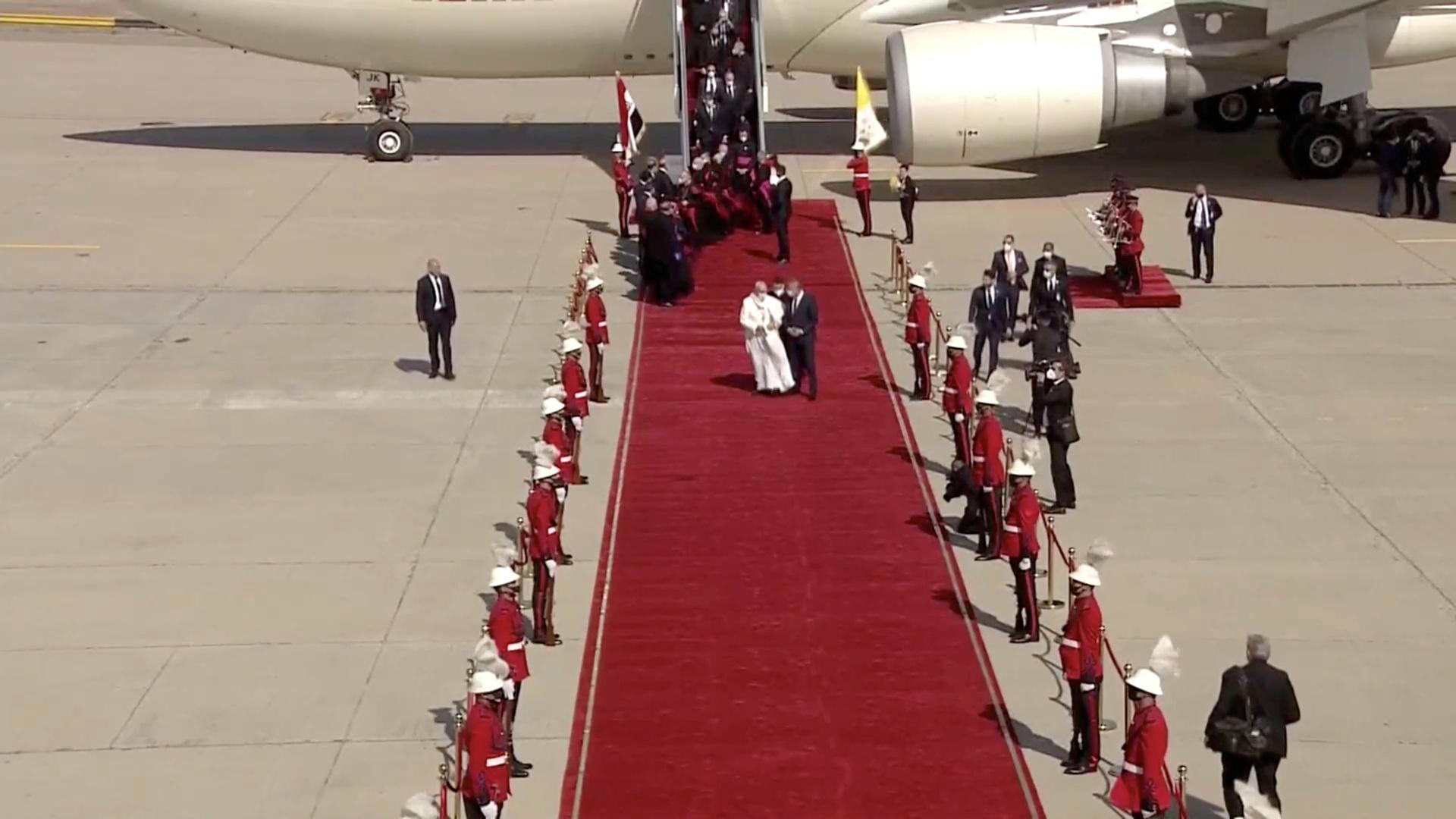 زيارة البابا فرنسيس التاريخية إلى العراق في صور