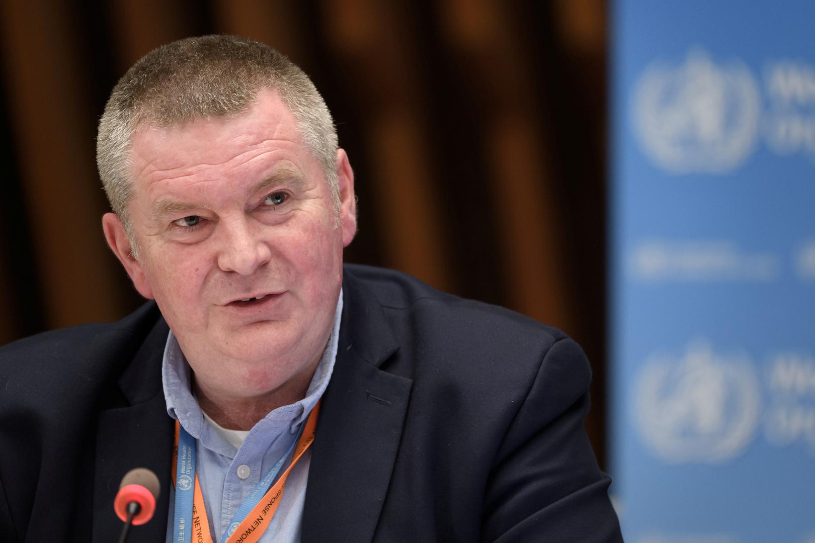 مدير برنامج الطوارئ في منظمة الصحة العالمية، مايك رايان.