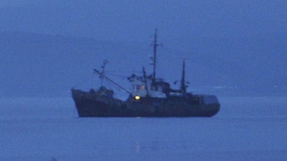نشوب حريق داخل سفينة روسية على متنها 30 صيادا في بحر اليابان