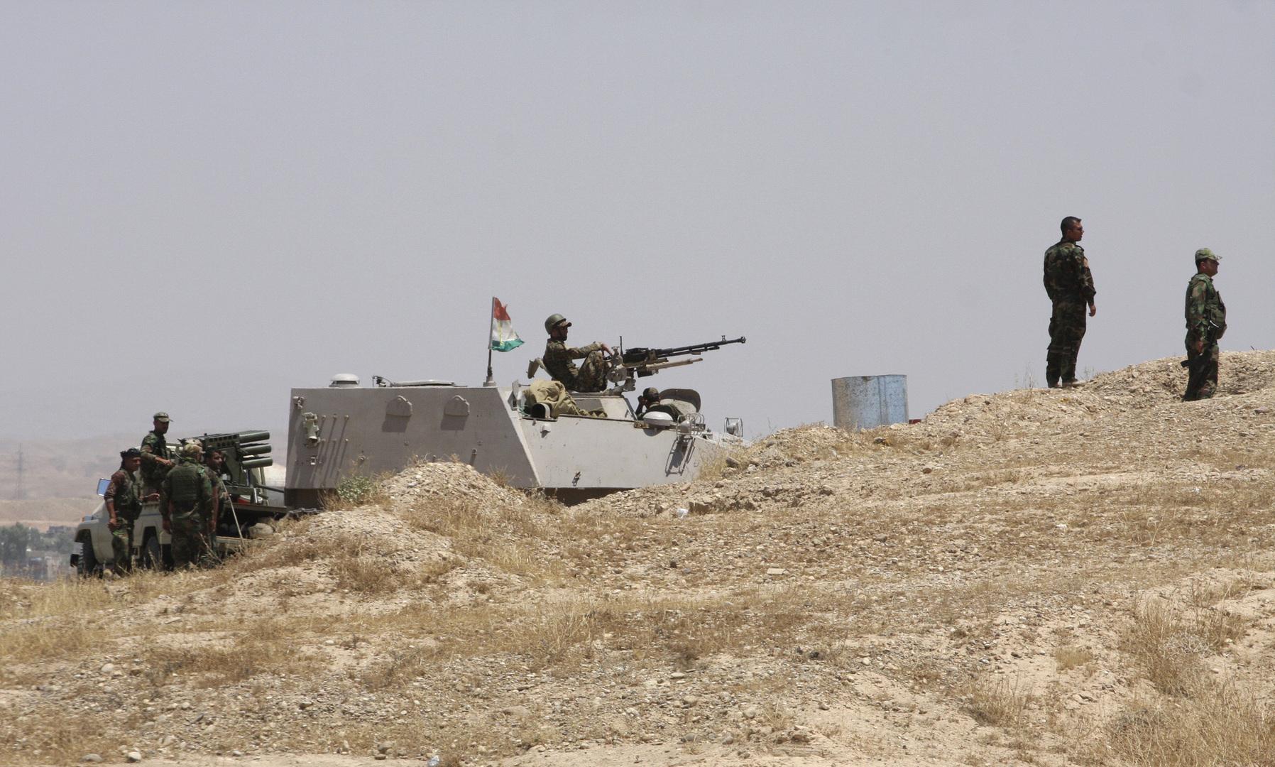 عناصر من قوات الأمن الكردية