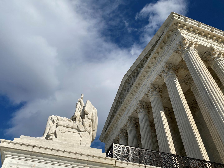 مبنى المحكمة العليا الأمريكية في واشنطن