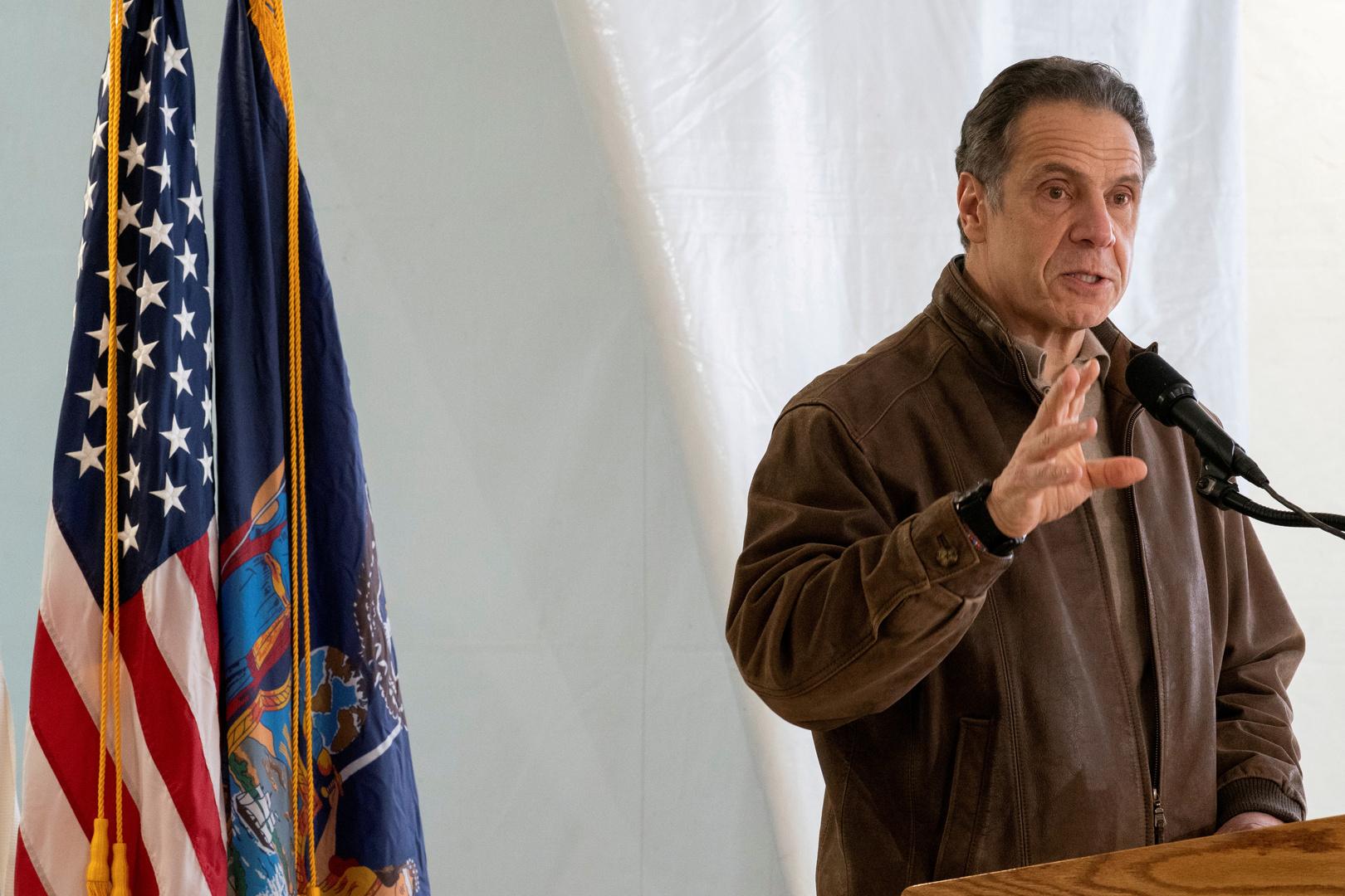 حاكم ولاية ولاية نيويورك، أندرو كومو
