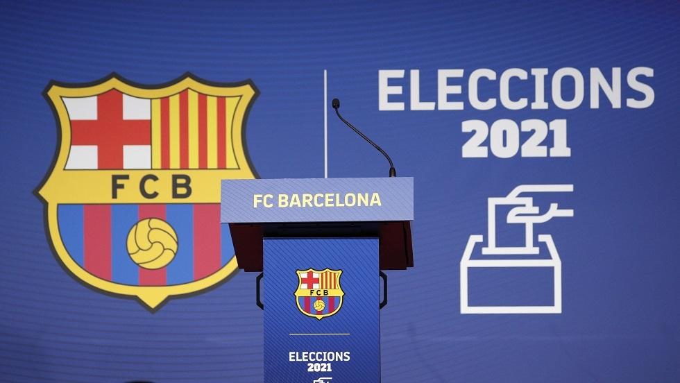 شاهد.. ميسي يصوت في انتخابات رئيس نادي برشلونة