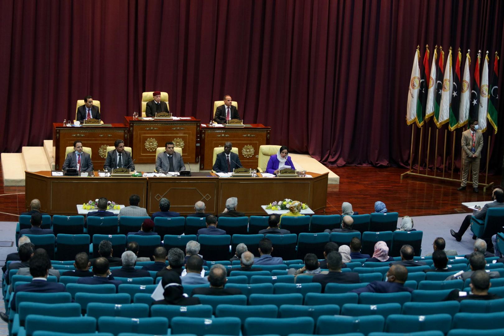 تعليق جلسة مجلس النواب الليبي حول منح الثقة للحكومة الجديدة حتى الثلاثاء ودعوة الدبيبة للحضور