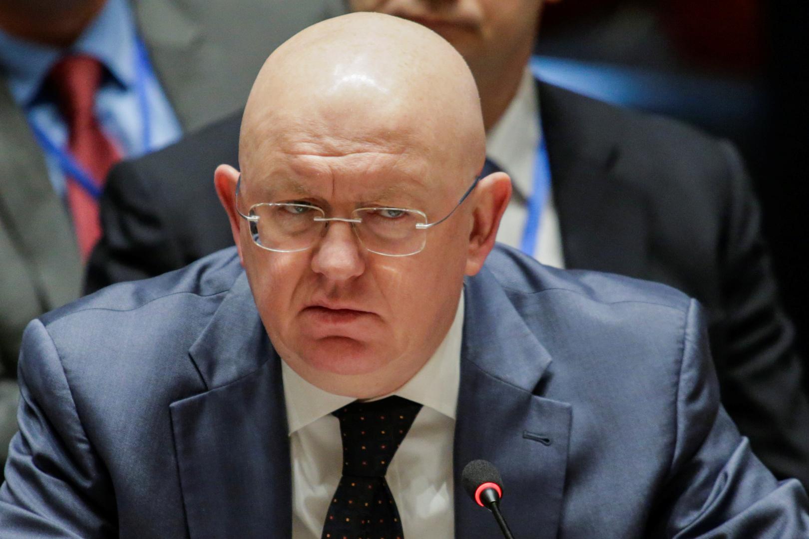 ممثل روسيا الدائم لدى الأمم المتحدة فاسيلي نيبينزيا