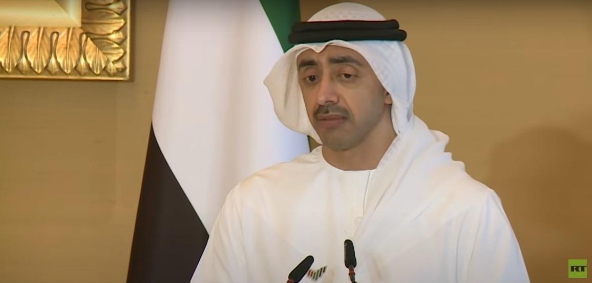 وزير الخارجية الإماراتي: قانون قيصر هو التحدي الأكبر الذي يواجه العمل المشترك مع سوريا