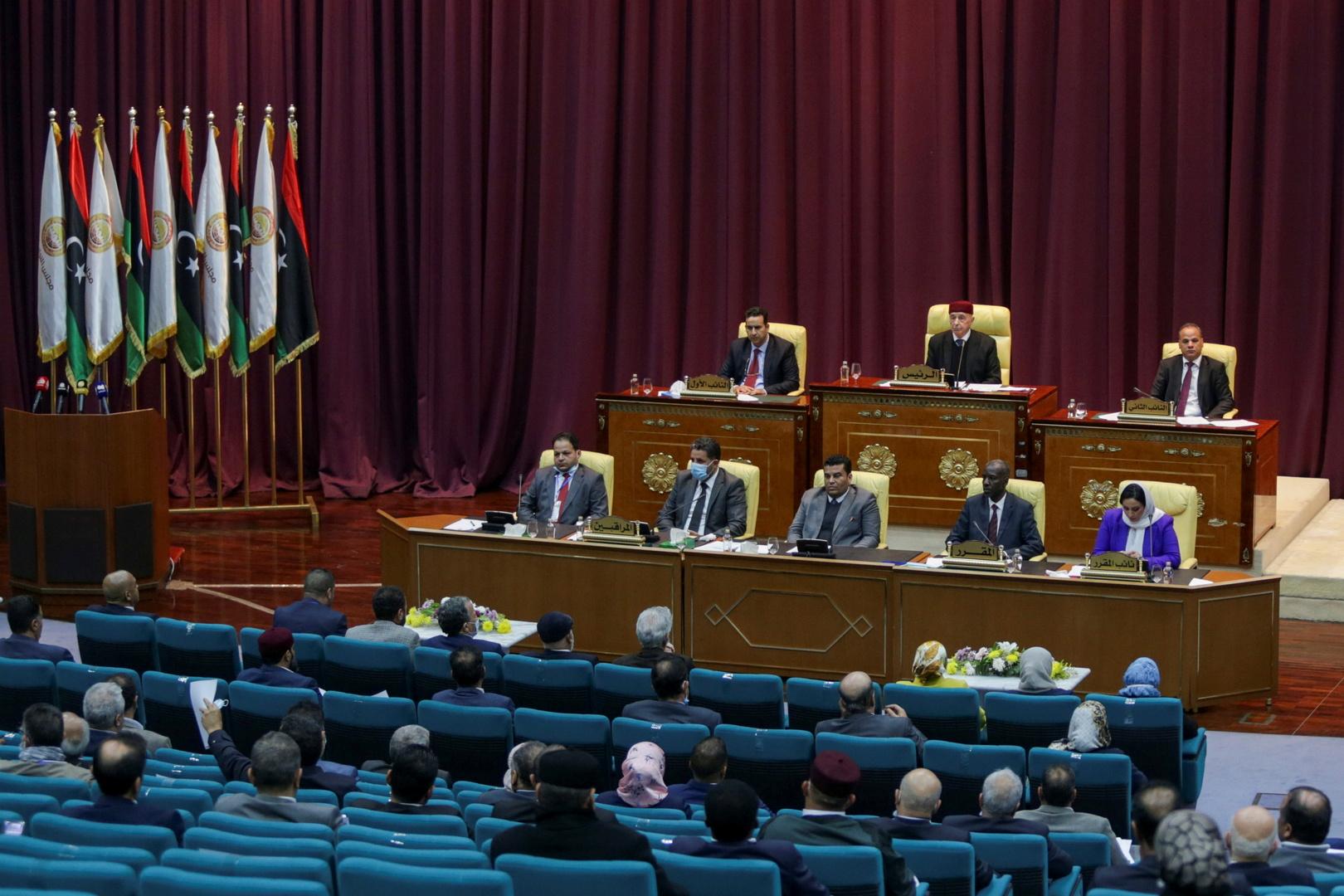 وسائل إعلام: تأجيل جلسة مجلس النواب الليبي لمنح الثقة لحكومة الدبيبة إلى الغد