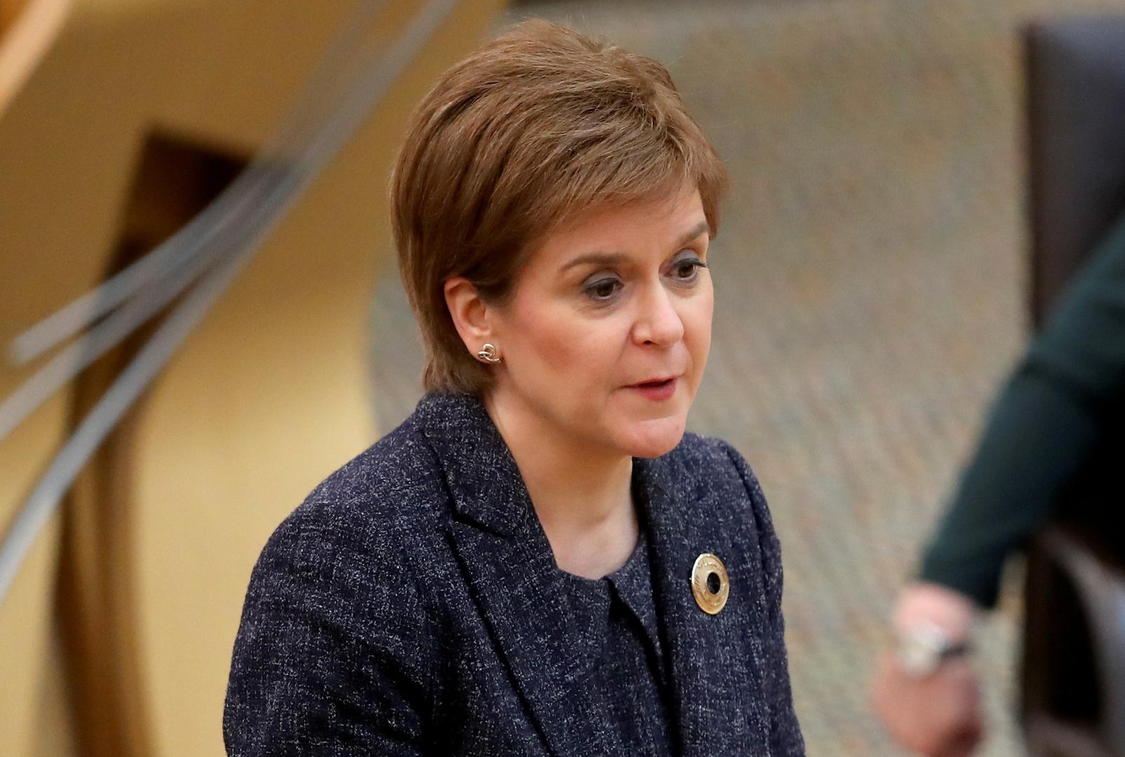 نيكولا ستيرجن، رئيسة وزراء اسكتلندا