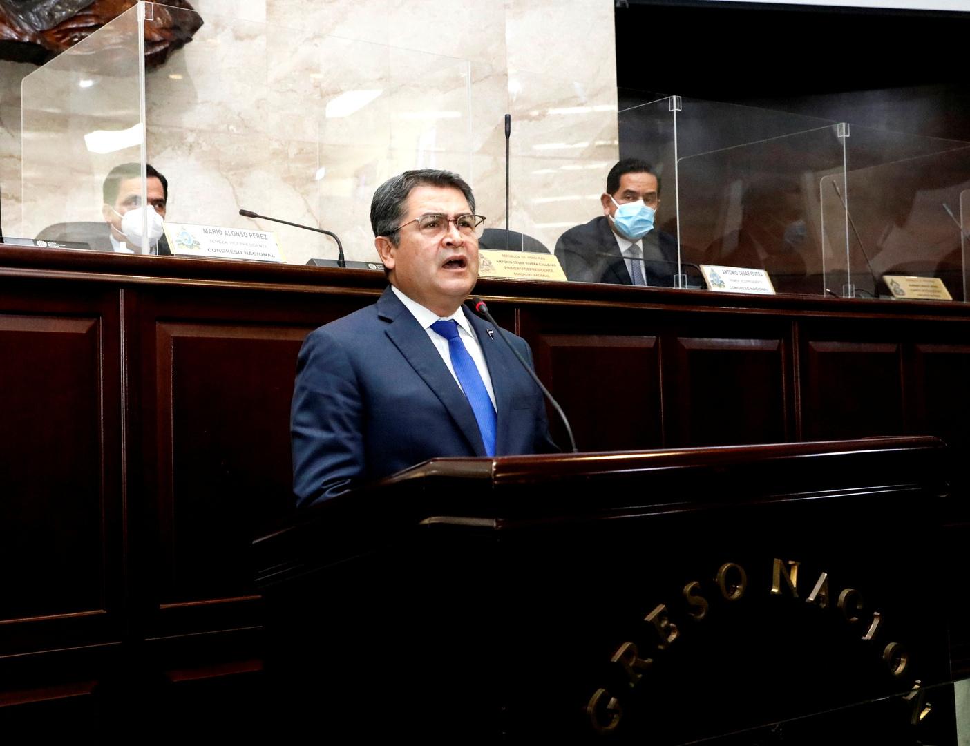 مدع أمريكي: رئيس هندوراس متورط في تجارة المخدرات