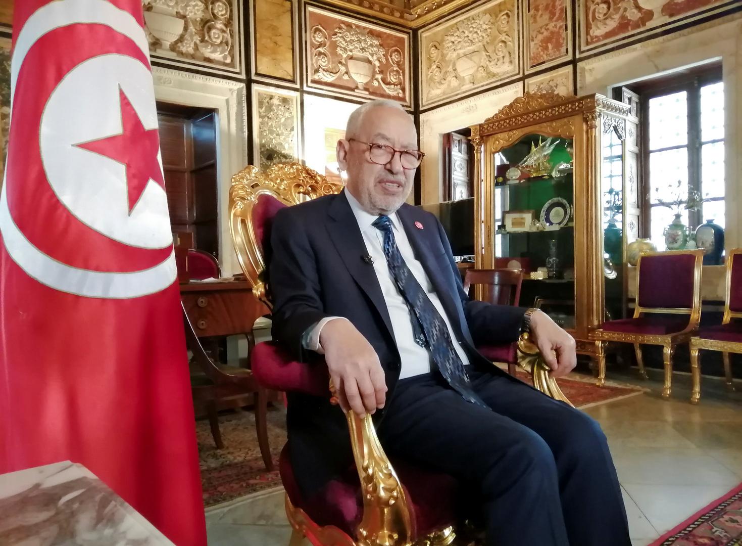 الغنوشي: تونس تحتاج استقرارا سياسيا لا تغييرا للحكومة