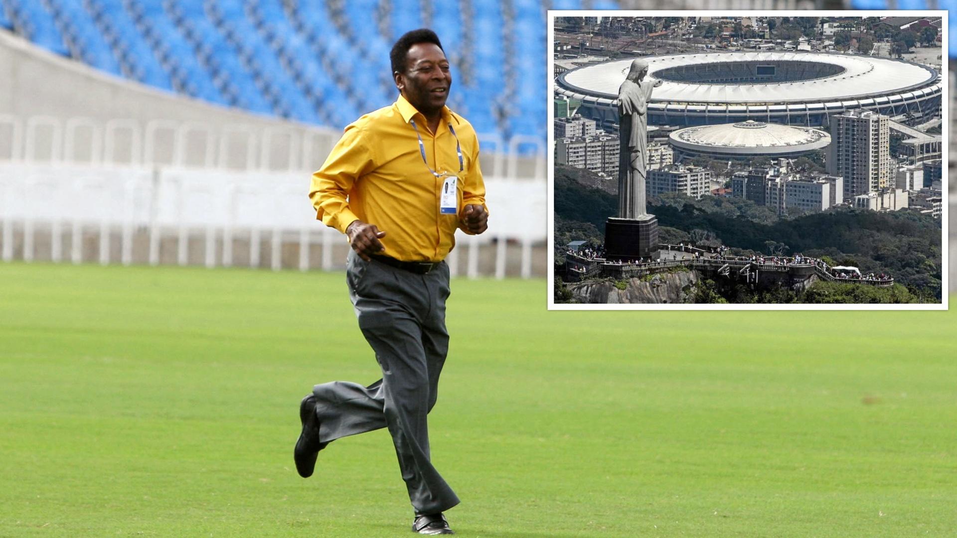 مشروع لإعادة تسمية أشهر ملعب في البرازيل تكريما لبيليه