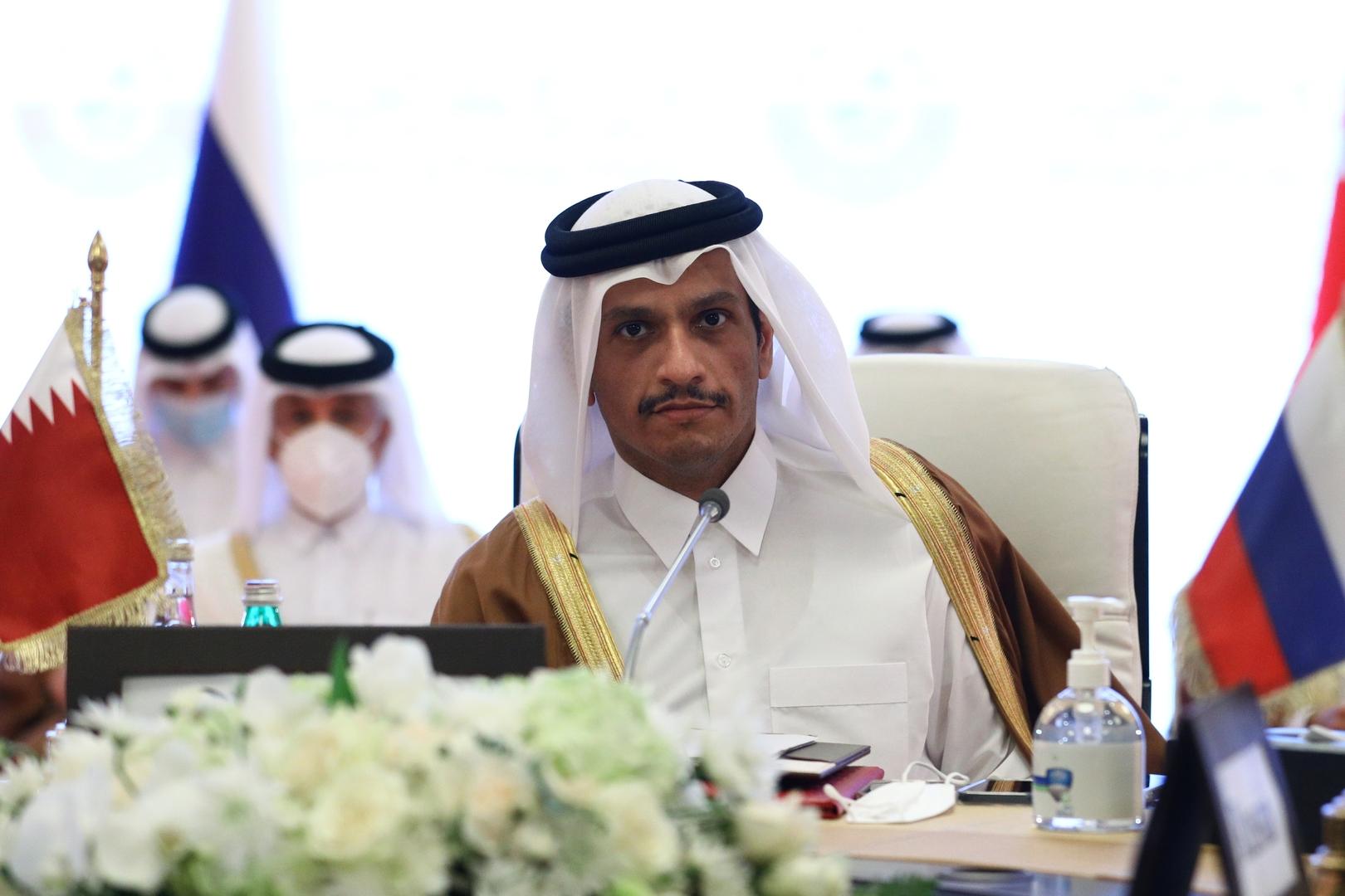 قطر: أسباب تعليق عضوية سوريا في الجامعة العربية ما زالت قائمة