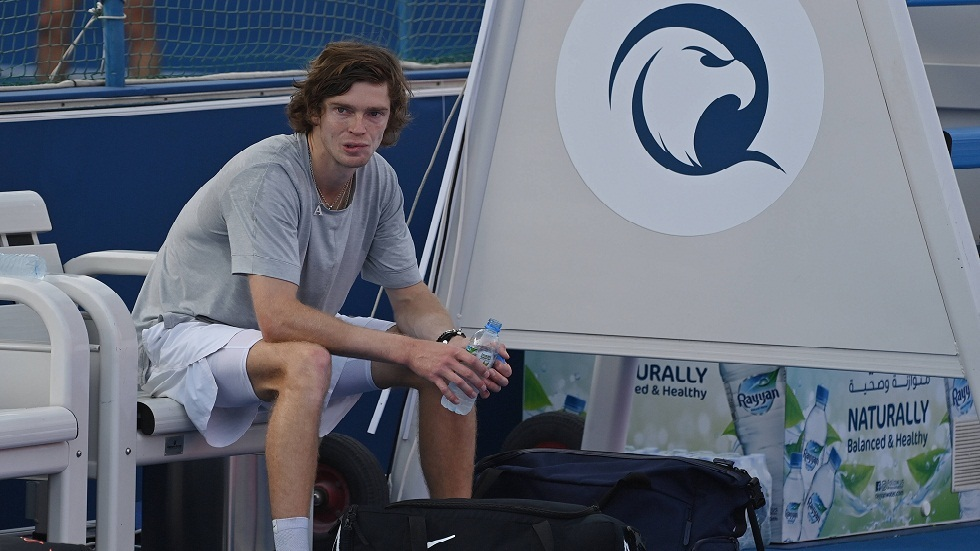 Russian Rublev qualifies for the semi-finals of the Doha Tennis Championship without playing any games!