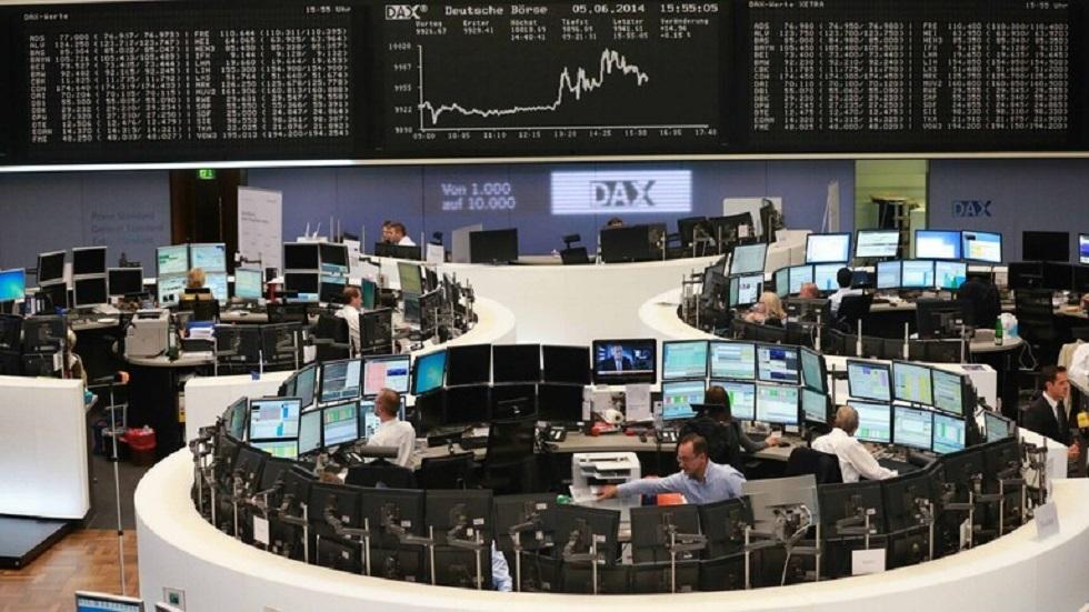 الأسهم الأوروبية عند ذروة عام بعد بيان المركزي الأوروبي