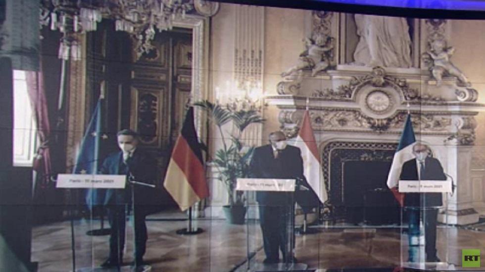 تأكيد عربي أوروبي على حل الدولتين