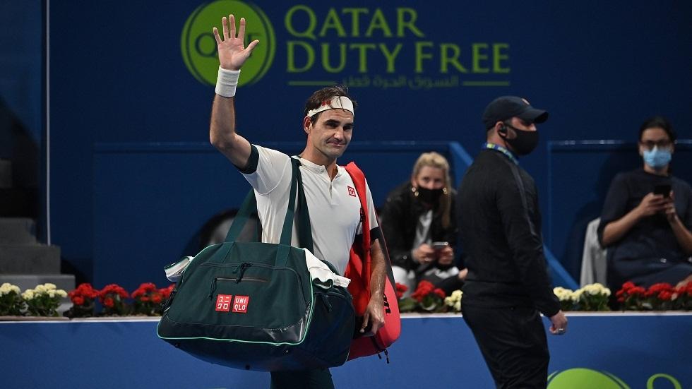 فيدرر يودع بطولة الدوحة للتنس من الدور ربع النهائي (فيديو)