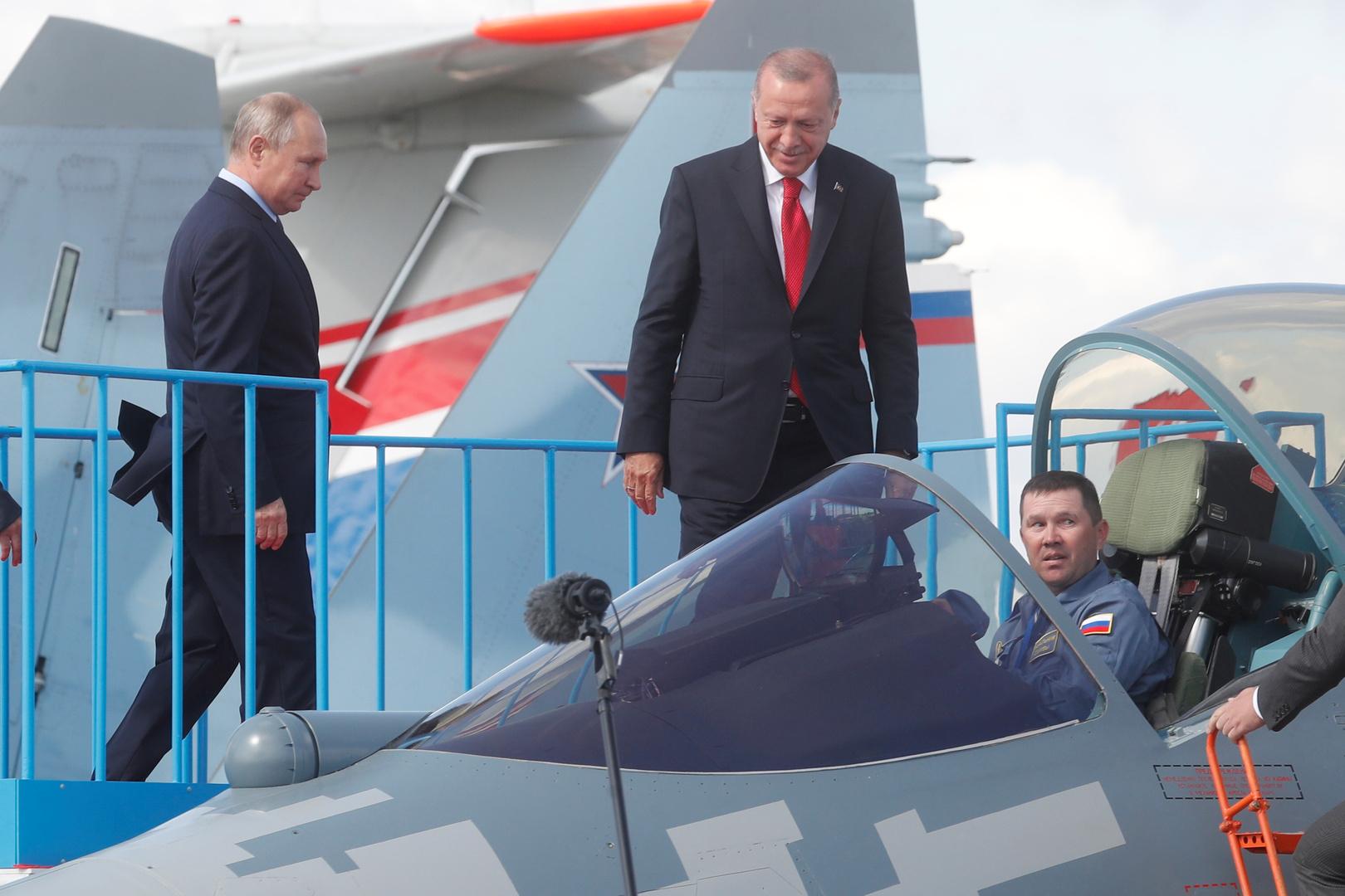 خبير يفسر مصلحة تركيا في مقاتلات سو-57 الروسية