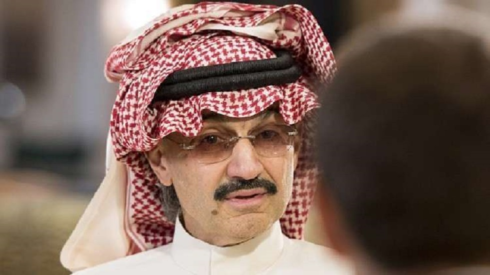 الملياردير السعودي الأمير الوليد بن طلال