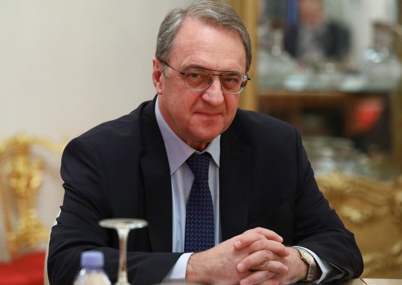 المبعوث الخاص للرئيس الروسي إلى الشرق الأوسط وإفريقيا، نائب وزير الخارجية ميخائيل بوغدانوف