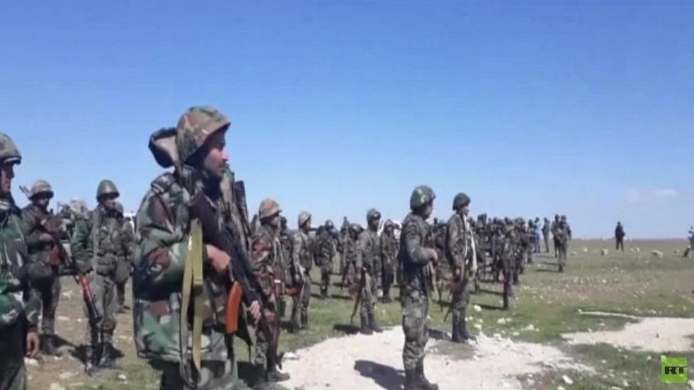 الجيش السوري يواصل نزع الألغام من بادية حماه