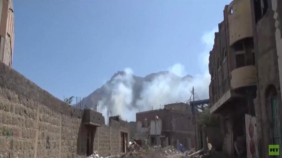 الجيش اليمني يسيطر على مواقع غرب تعز