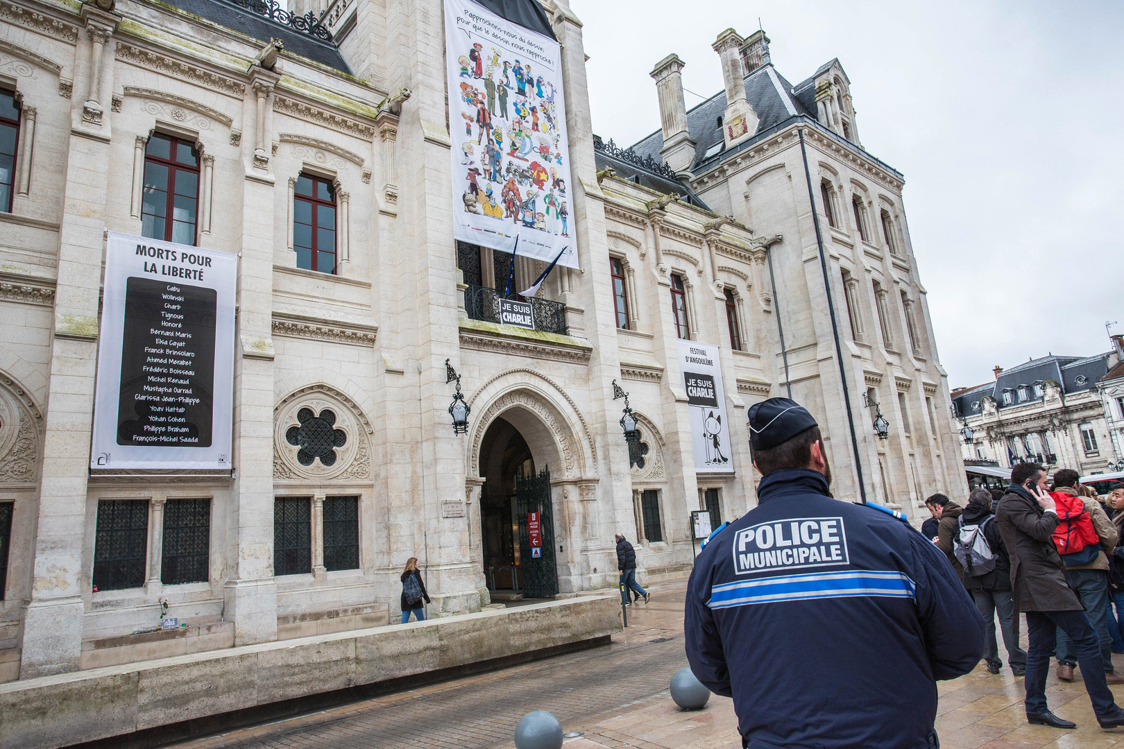 مبنى مجلة شارلي إيبدو الفرنسية