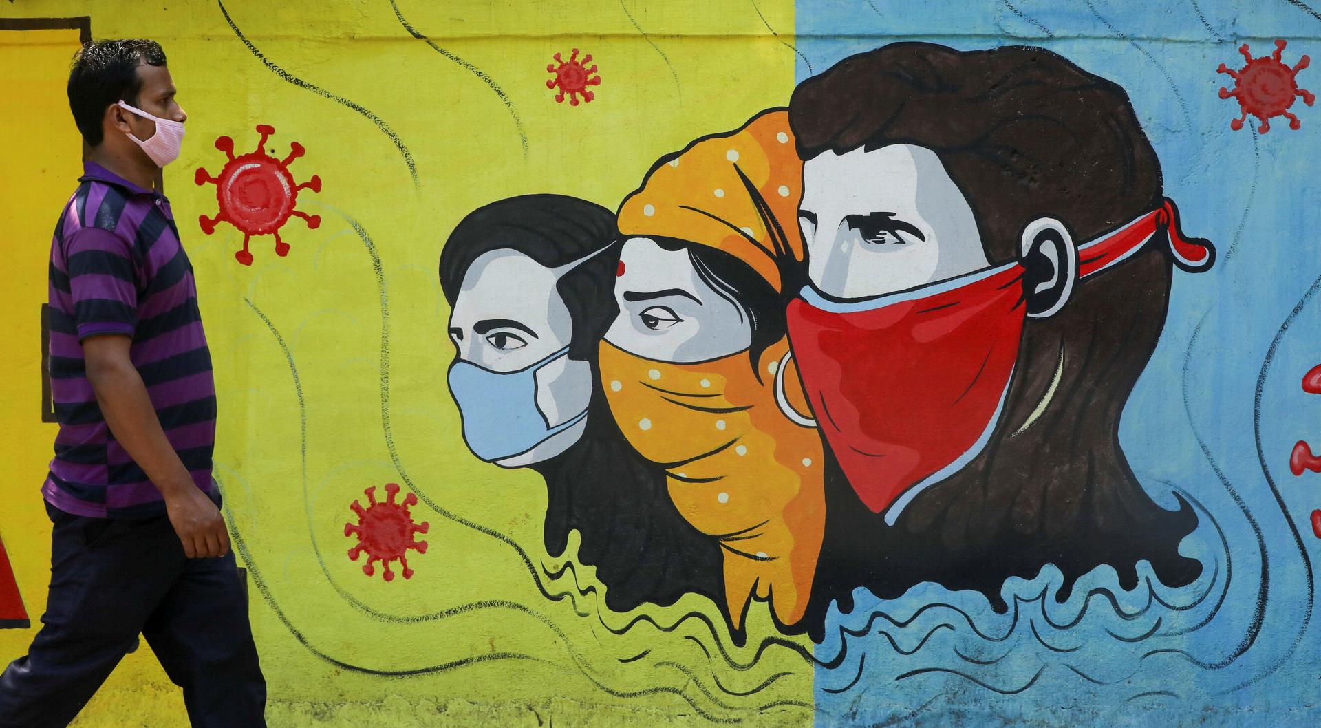 الهند تسجل أكبر حصيلة يومية بإصابات كورونا هذا العام