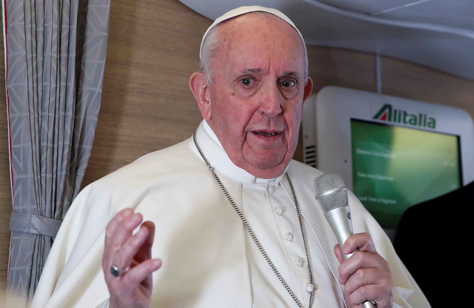 البابا فرنسيس: الذكرى العاشرة للحرب السورية يجب أن تحفز جهود السلام