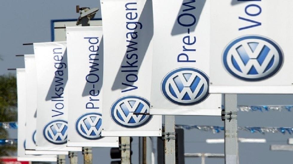 شعار شركة فولكسفاغن الألمانية لصناعة السيارات