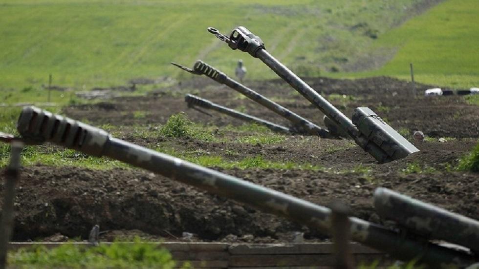 القوات الأذربيجانية في قره باغ - أرشيف